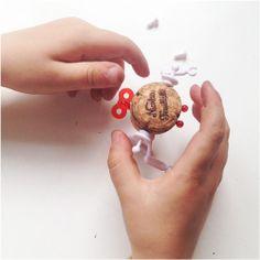 Corkers, creatief met kurk, diy, kinderen