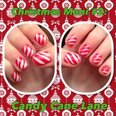Colors used:   Revlon: Love that red   Sinful colors: Snow me white