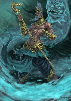Naga Shaman by Jessada-Art.deviantart.com on @DeviantArt