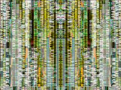 Picture 56 -- symmetrical player with glitch effect -- by pixel noizz, via Flickr
