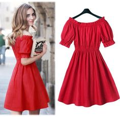 Free shipping 2016 woman dress fashion design summer dress brand plus size red dress cute brand ladies sexy dresses