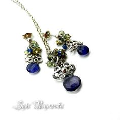 Wuthering Heights Set necklace AND Earrings  by BraceletsWorld, $119.00