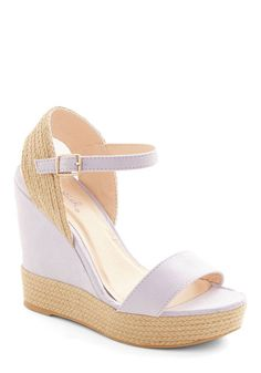 Pretty Little Lilacs Wedge, @ModCloth