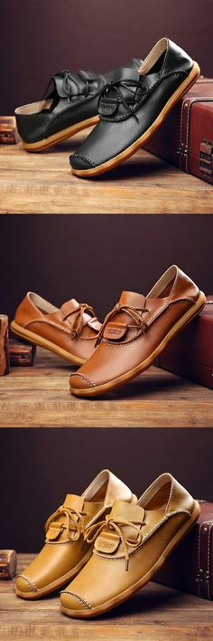US $ Prelesty 2018 Luxury Brand Natural Leather Boat Shoes Cow Split Leather Men… - http://sorihe.com/mensshoes/2018/02/12/us-prelesty-2018-luxury-brand-natural-leather-boat-shoes-cow-split-leather-men/