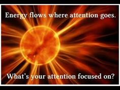 Intention and Your Environment