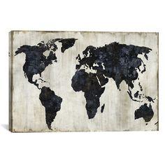 """The World II (26""""W x 18""""H x 0.75""""D)"""