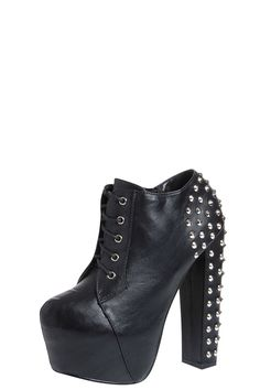 I think I will buy these for the Lady Gaga concert.trying to chanell biker gaga from the 'Judas' video clip :) Black Platform Boots, Platform Shoes, Lady Gaga Concert, Studded Boots, Winter Shoes, Knee High Boots, Me Too Shoes, Chelsea Boots, Shoe Boots