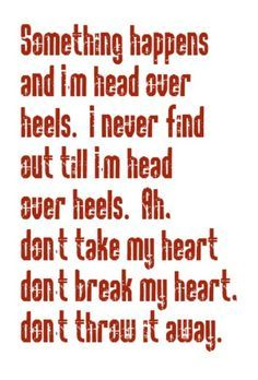 something happens and i'm head over heels tears for fears - Google Search