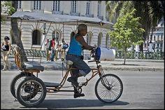 Bicitaxi | Cubataxi | Taxi Bike |  Ajiaco Cubano Cuba, Cargo Bike, Bicycle, Bicycles, Projects, Bicycle Kick, Bike, Trial Bike, Kobe