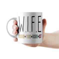Wife - Washing, ironing, fucking, ect lánybúcsú bögre