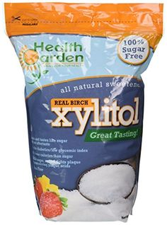 Garden of Health Products Kosher Birch Xylitol (Not from Corn), 5 lb ** Quickly view this special deal, click the image : Baking supplies