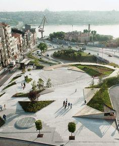 Plaza, Estambul Turquia.