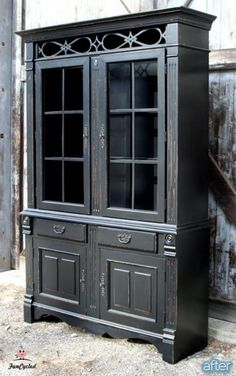 Best Of Large Black China Cabinet