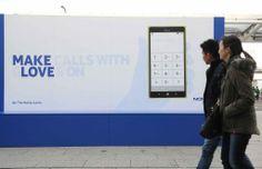 #NokiaGloveLove : Nokia créer l'événement à Londres.