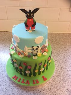 CBeebies likes this Bing bunny birthday cake. Perfect for any kid's party. We're…