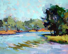 Around the Bend by Trisha Adams Oil ~ 24 x 30