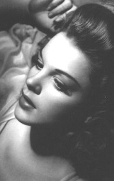 What a beautiful photo of Judy Garland.
