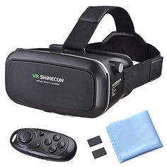AW VR Box Virtual Reality 3D Glasses Headset Bluetooth Control for Android iOS Smartphone iPhone 76s65s >>> Visit the image link more details. Note:It is affiliate link to Amazon.