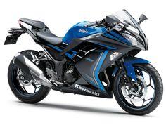 Kawasaki NZ | 2015 Ninja 300 ABS (Special Edition) (EX300BFFA). Part of the Sports Motorcycle Range from Kawasaki New Zealand.
