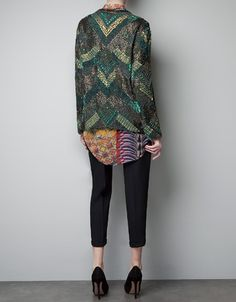 SEQUINNED AND EMBROIDERED CARDIGAN - Jackets - Woman - New collection - ZARA