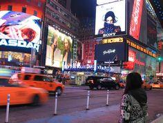 Michael Jackson's Xscape at the Times Square, New York City, USA April 2014