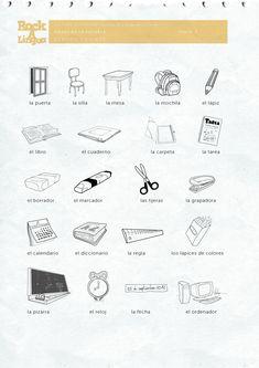 worksheets spanish and for kids on pinterest. Black Bedroom Furniture Sets. Home Design Ideas