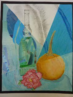 The Calvert Canvas: Adventures in Middle School Art!: Multimedia Still Life