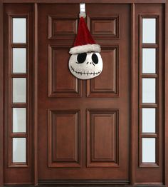 Jack Skellington Door Hanger Nightmare before Christmas