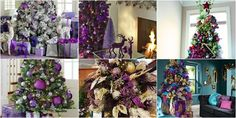 Purle Christmas Tree Ideas. Xmas δέντρα – μωβ αποχρώσεις