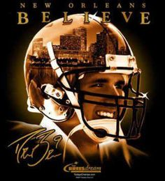 love us some drew brees and the new orleans saints...