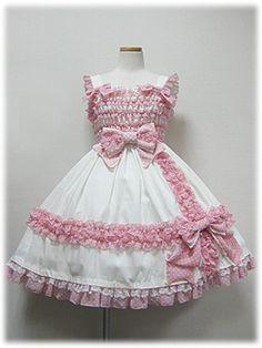 angelic pretty シルキーラッピングリボンジャンパースカート