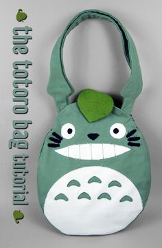 Sewing Tutorial: The Totoro Bag by *ShoriAmeshiko on deviantART