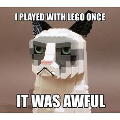 Grumpy Cat and lego