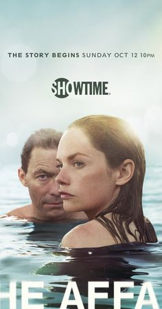 Created by Hagai Levi, Sarah Treem.  With Dominic West, Ruth Wilson, Maura Tierney, Joshua Jackson. The psychological effects of an affair between a married waitress at a Hamptons diner and a teacher who spends his summer at his in-laws' estate on the island.