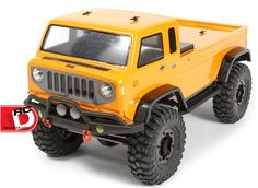 Axial Jeep Mighty FC Clear Body