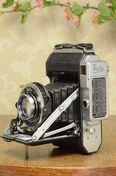 1937 WELTA WELTUR, CLA'd 6x6 Medium format, Coupled Rangefinder Camera #Welta