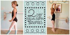 Tutorial: How to Make Your Own DIY Ballet Barre :: Hometalk
