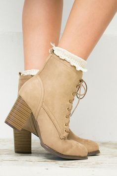 City Slicker Lace Up Boots