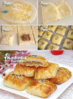 Handmade Truffle Mince Pies Recipe, How To, Cookie Recipes Pastry Recipes, Meat Recipes, Baking Recipes, Cookie Recipes, Mince Pies, Borek Recipe, Recipe Recipe, Truffle Recipe, Recipe Sites