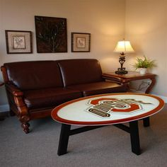 Fan Creations Ohio State University Coffee Table! I WANT THIS TABLE!! GOTTA HAVE IT!!!