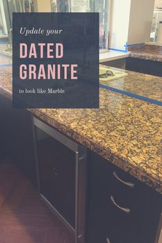 Home Depot Granite Kitchen Countertops . Home Depot Granite Kitchen Countertops . Can You Paint Over Granite Counters Painted Granite Countertops, Granite Bathroom, Granite Kitchen, Marble Countertops, Kitchen Paint, Kitchen Countertops, Granite Paint, Painting Countertops, Clean Granite