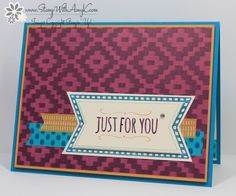 You're So Sweet - Stamp With Amy K
