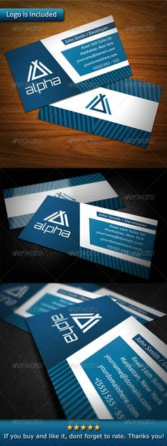"""Tech Business Card #GraphicRiver - 3.5×2"""" print dimension, with Bleed and Guides. - Layered Ai and EPS file. - CMYK , Print ready. - You can change text and colors very easy using the named and organized layers that includes the file. - The typography used is Aller you can download here: .fontsquirrel /fonts/Aller and Orbitron you can download here: .fontsquirrel /fonts/Orbitron Created: 6December12 GraphicsFilesIncluded: VectorEPS #AIIllustrator Layered: Yes MinimumAdobeCSVersion: CS Tags…"""