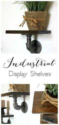 Industrial Display Shelves