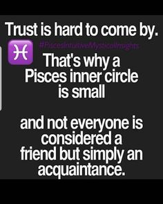 Zodiac Signs Pisces, Astrology Pisces, Pisces Quotes, Pisces Facts, True Quotes, Horoscope, Pisces Love, Zodiac Posts, Mbti