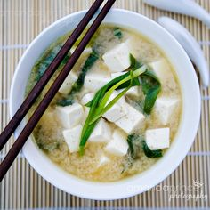 miso soup- best Japanese soup!!