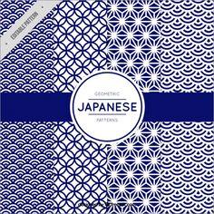 和柄の色使いが魅力的!日本の伝統的な柄や文様、季節の風物詩を使った無料のパターン素材のまとめ