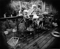 Family pictures © Sally Mann. Sally Mann (born in Lexington, Virginia, 1951) is one of America's most renowned photographers.