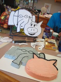 Living the Miracle: Elephant and Piggie are Invited to the Party!