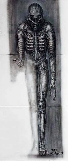 """The Dutch customs once thought my pictures were photos. Where on earth did they think I could have photographed my subjects? In Hell, perhaps?"" ... HR Giger"